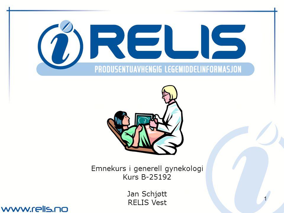 Emnekurs i generell gynekologi