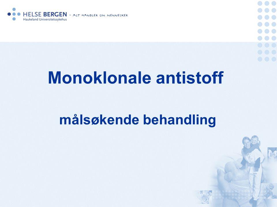 Monoklonale antistoff målsøkende behandling