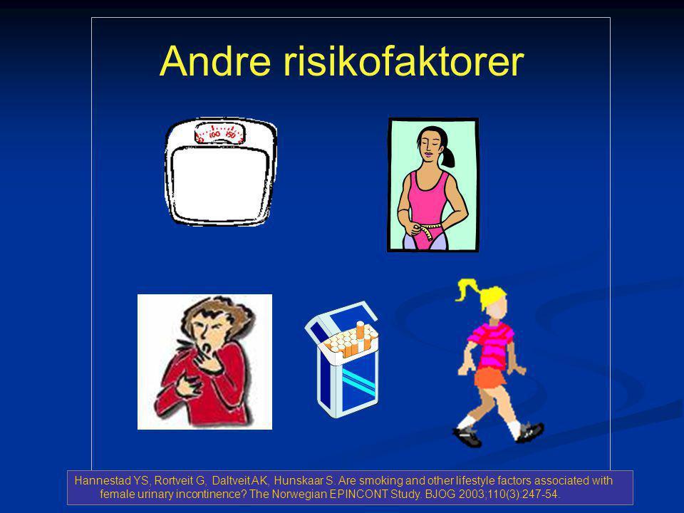Andre risikofaktorer
