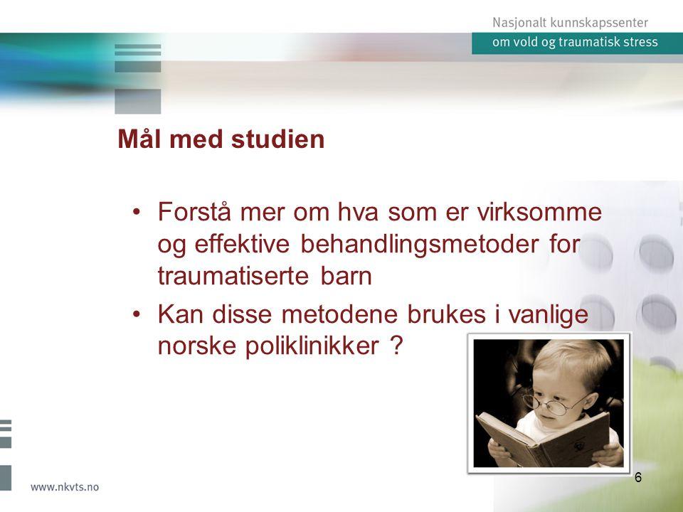 Kan disse metodene brukes i vanlige norske poliklinikker