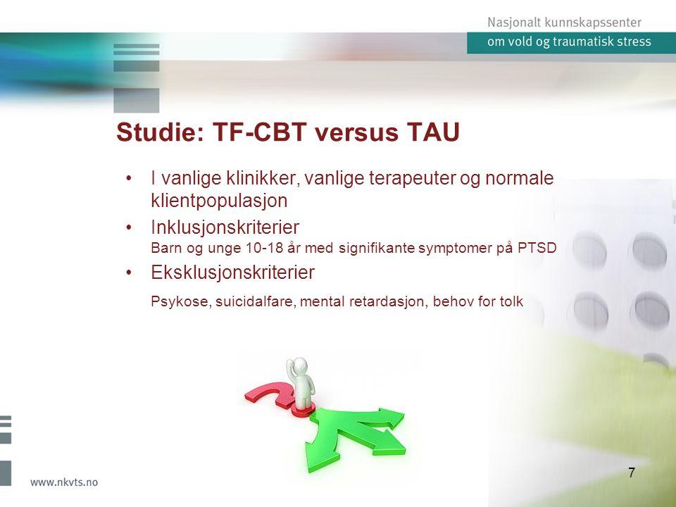 Studie: TF-CBT versus TAU
