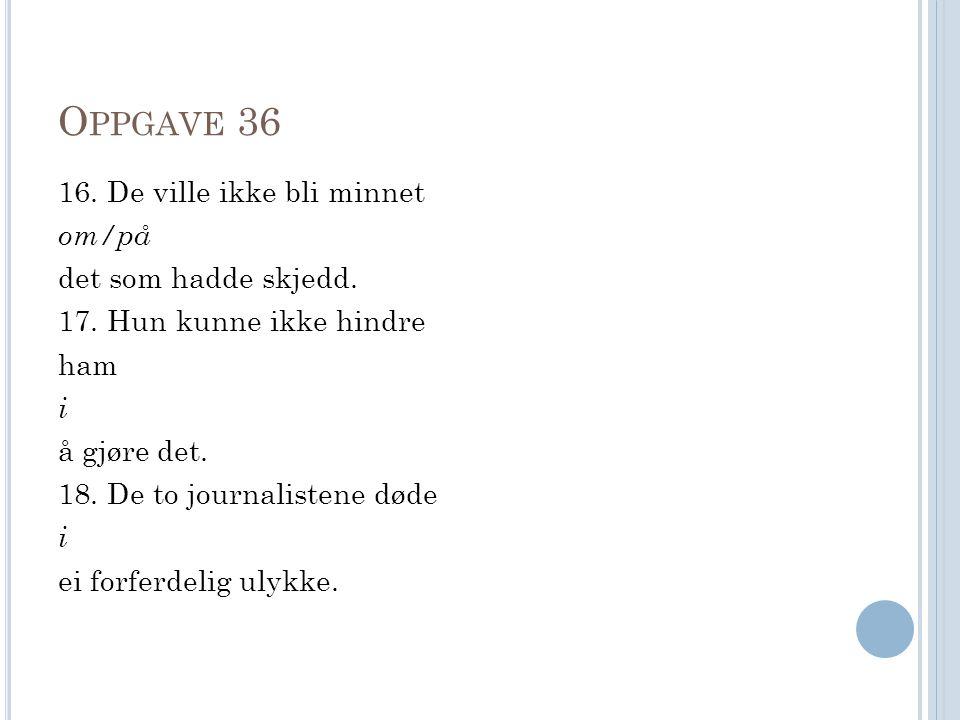 Oppgave 36