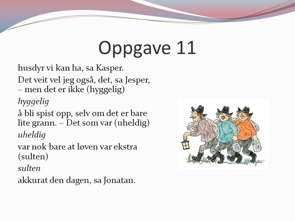 Oppgave 11