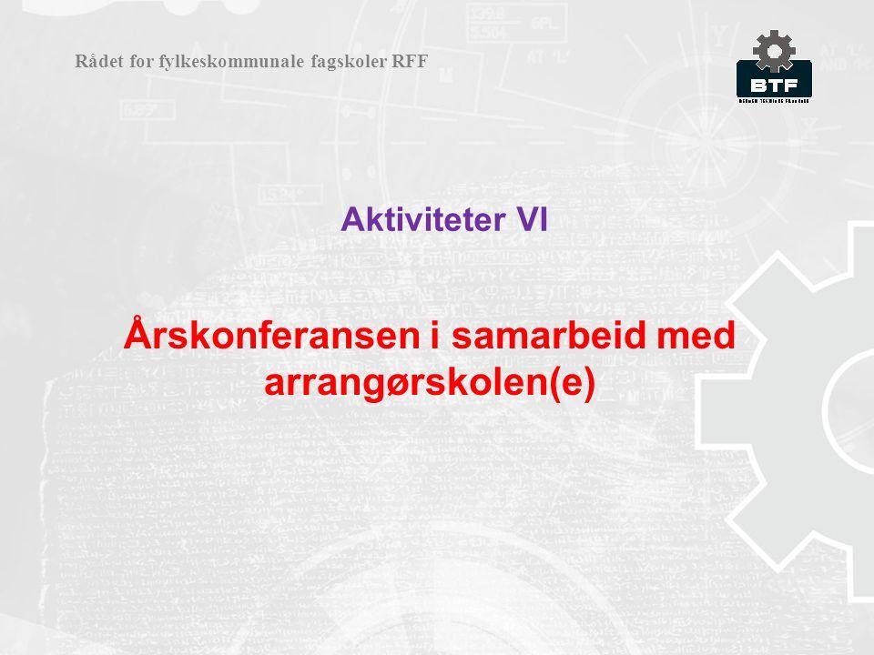 Årskonferansen i samarbeid med arrangørskolen(e)