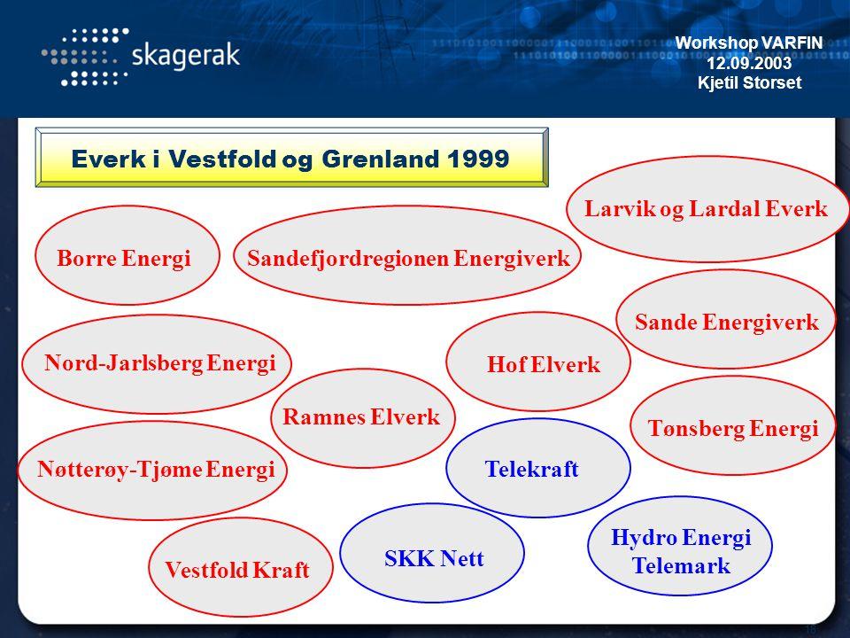 Everk i Vestfold og Grenland 1999