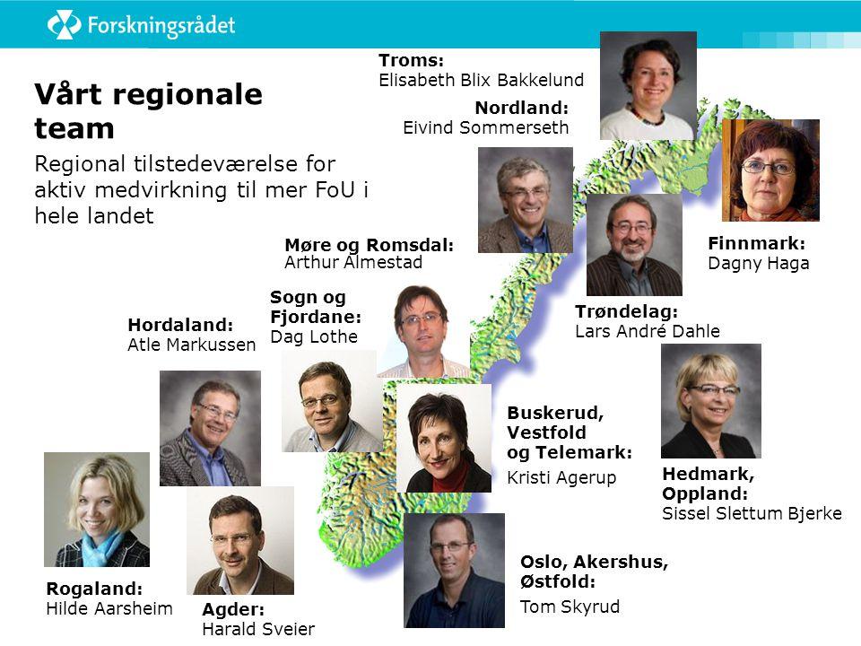 Troms: Elisabeth Blix Bakkelund Vårt regionale team. Nordland: Eivind Sommerseth.
