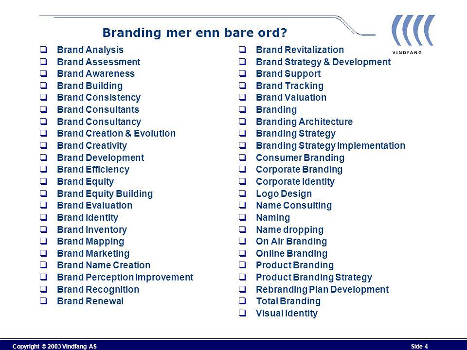 Branding mer enn bare ord