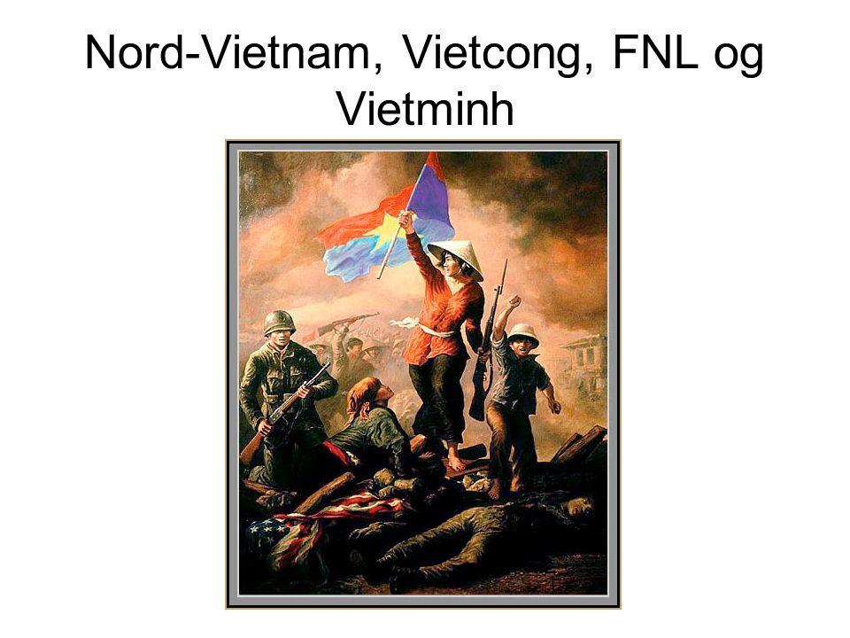 Nord-Vietnam, Vietcong, FNL og Vietminh