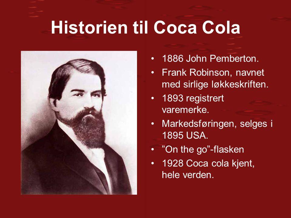Historien til Coca Cola