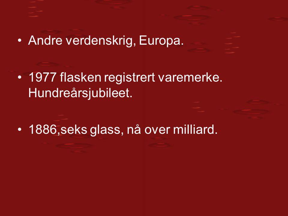 Andre verdenskrig, Europa.