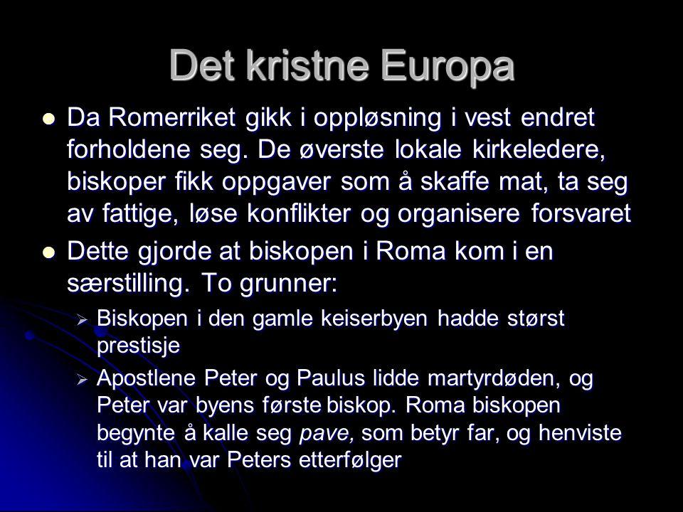 Det kristne Europa