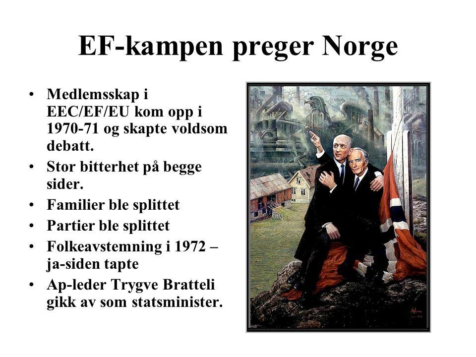 EF-kampen preger Norge