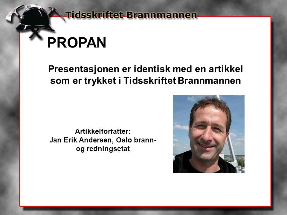 Jan Erik Andersen, Oslo brann- og redningsetat