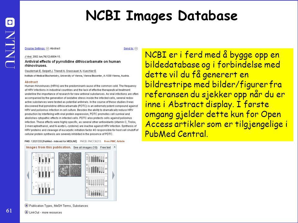 NCBI Images Database