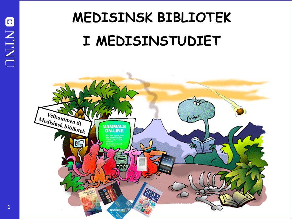 Velkommen til Medisinsk bibliotek