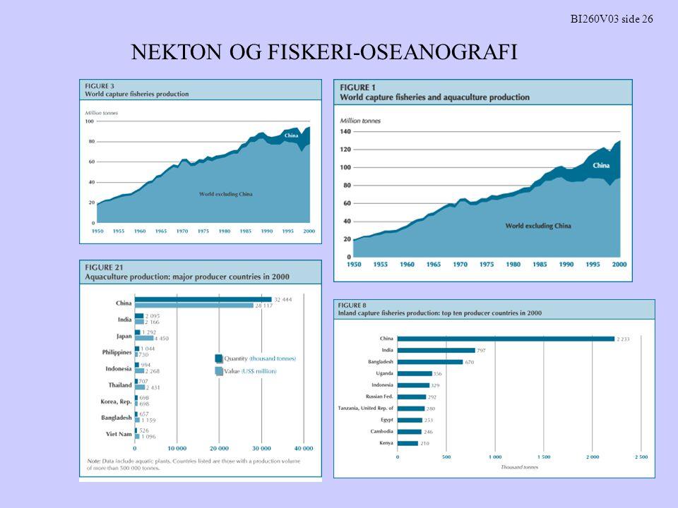 NEKTON OG FISKERI-OSEANOGRAFI