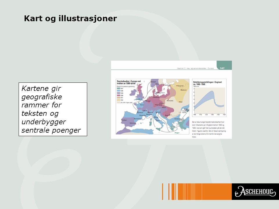 Kart og illustrasjoner