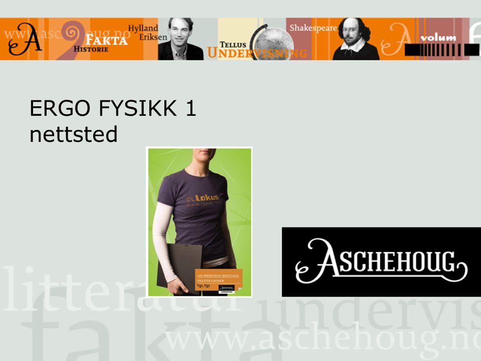 ERGO FYSIKK 1 nettsted
