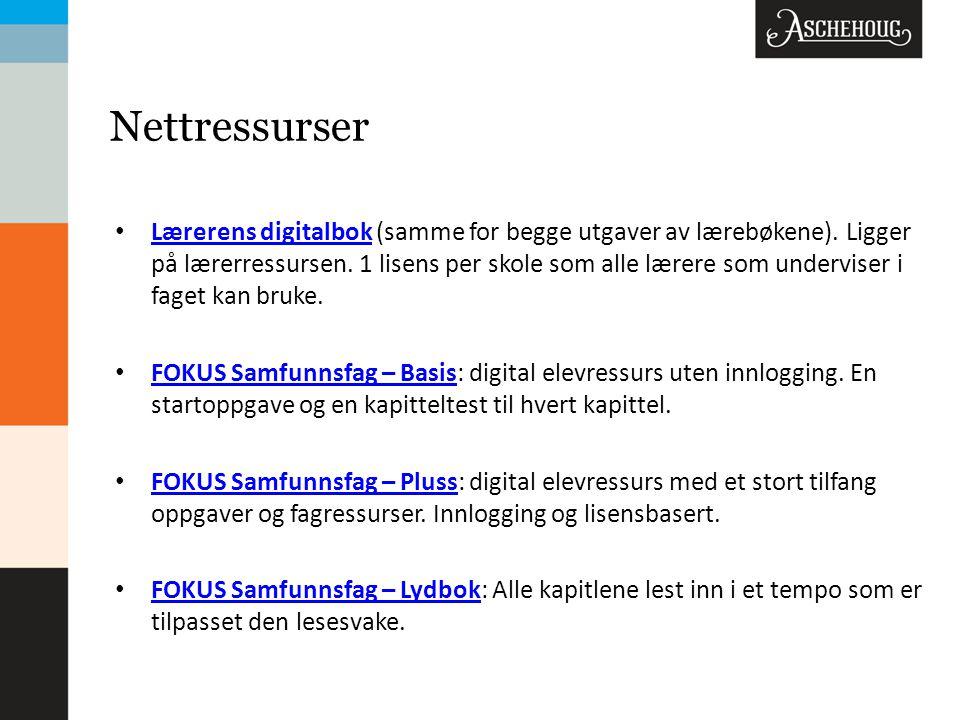 Nettressurser