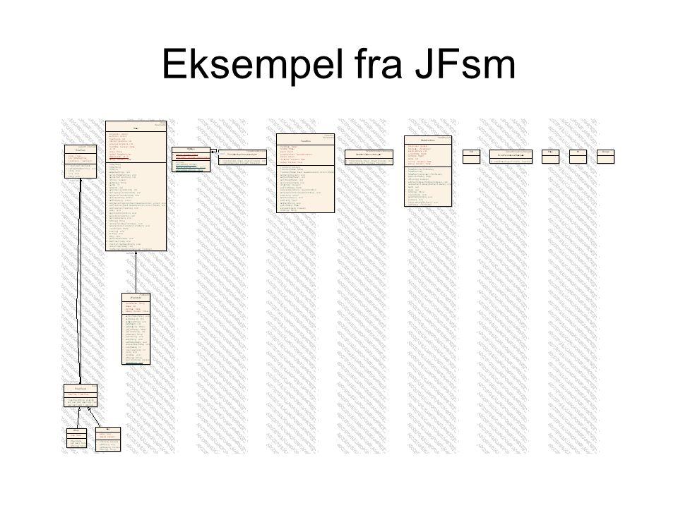 Eksempel fra JFsm