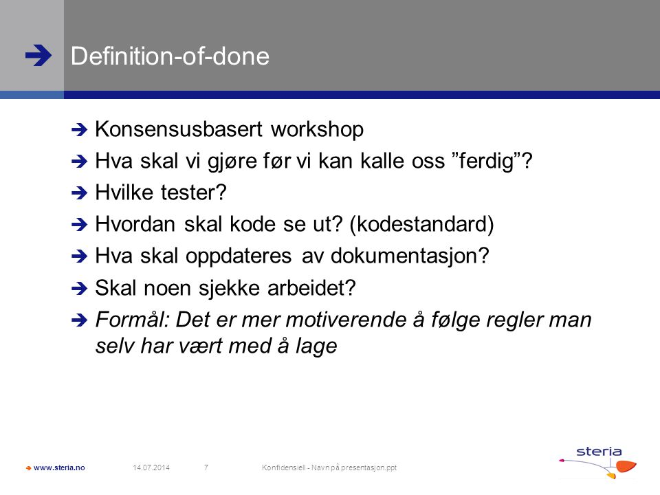 Konfidensiell - Navn på presentasjon.ppt