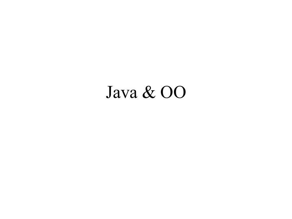 Java & OO