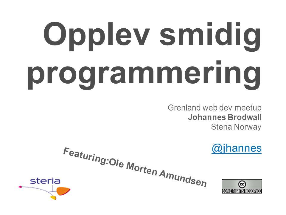 Opplev smidig programmering