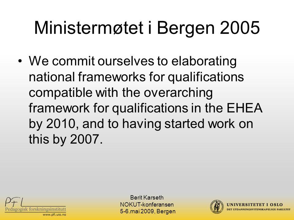 Ministermøtet i Bergen 2005