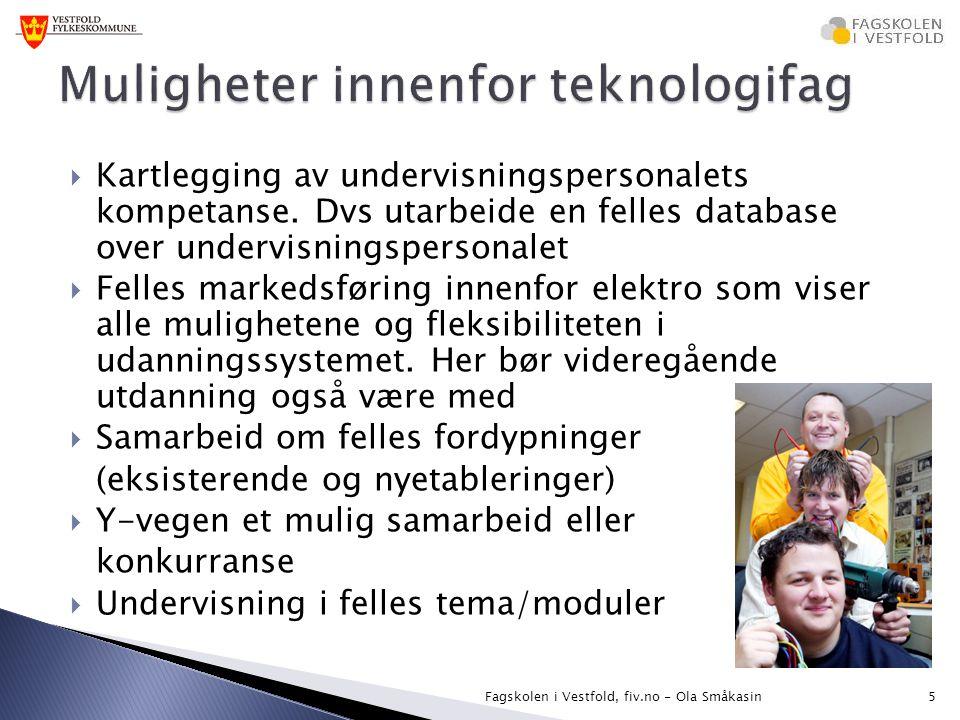Muligheter innenfor teknologifag