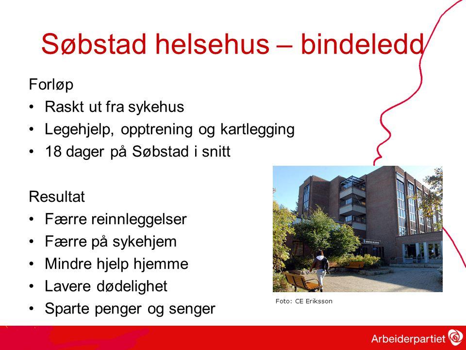 Søbstad helsehus – bindeledd
