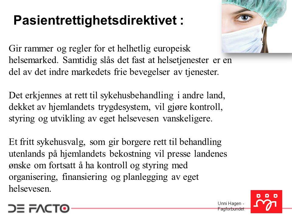Pasientrettighetsdirektivet :