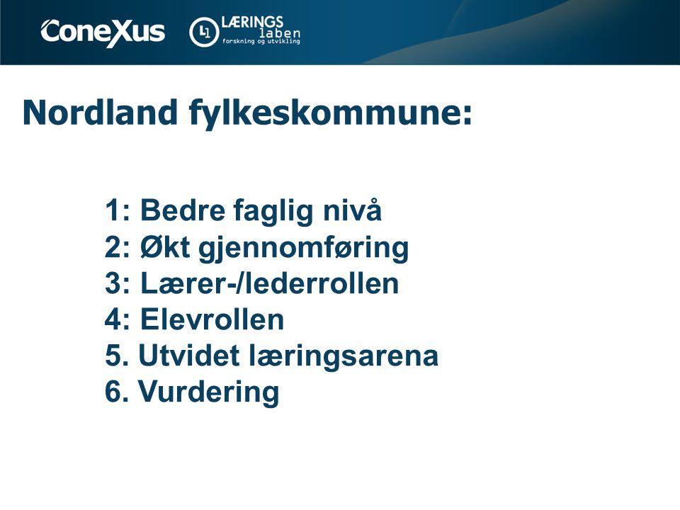 Nordland fylkeskommune: