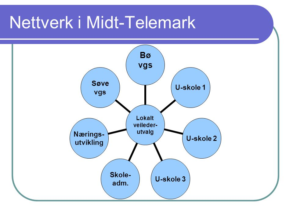 Nettverk i Midt-Telemark