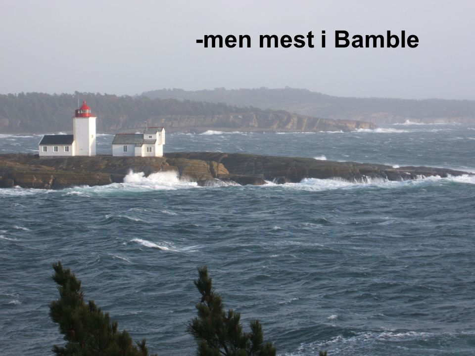 -men mest i Bamble