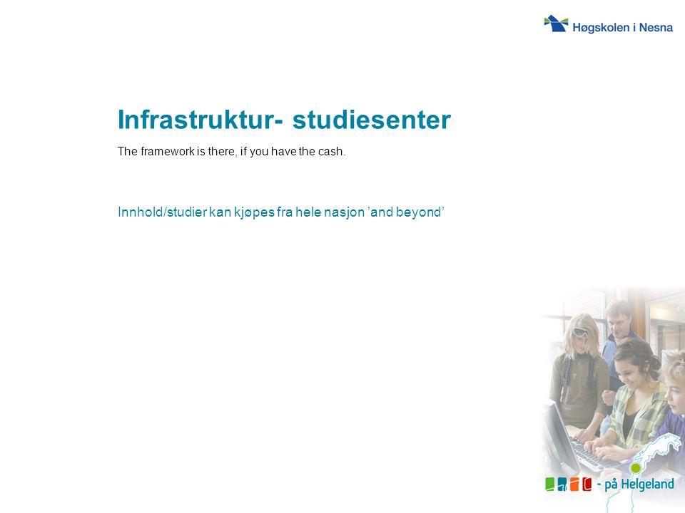 Infrastruktur- studiesenter