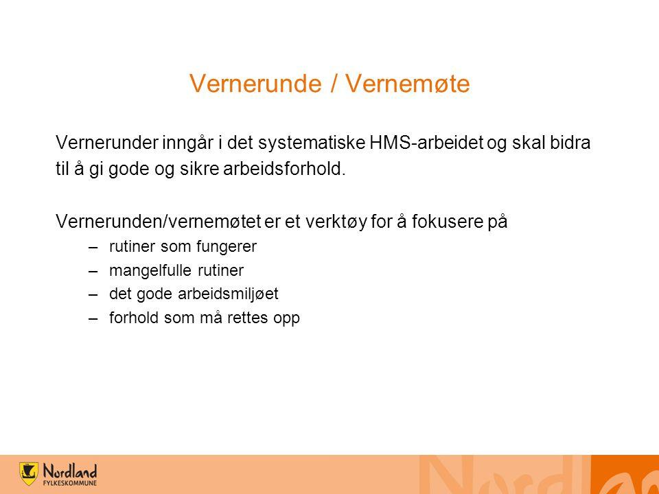 Vernerunde / Vernemøte