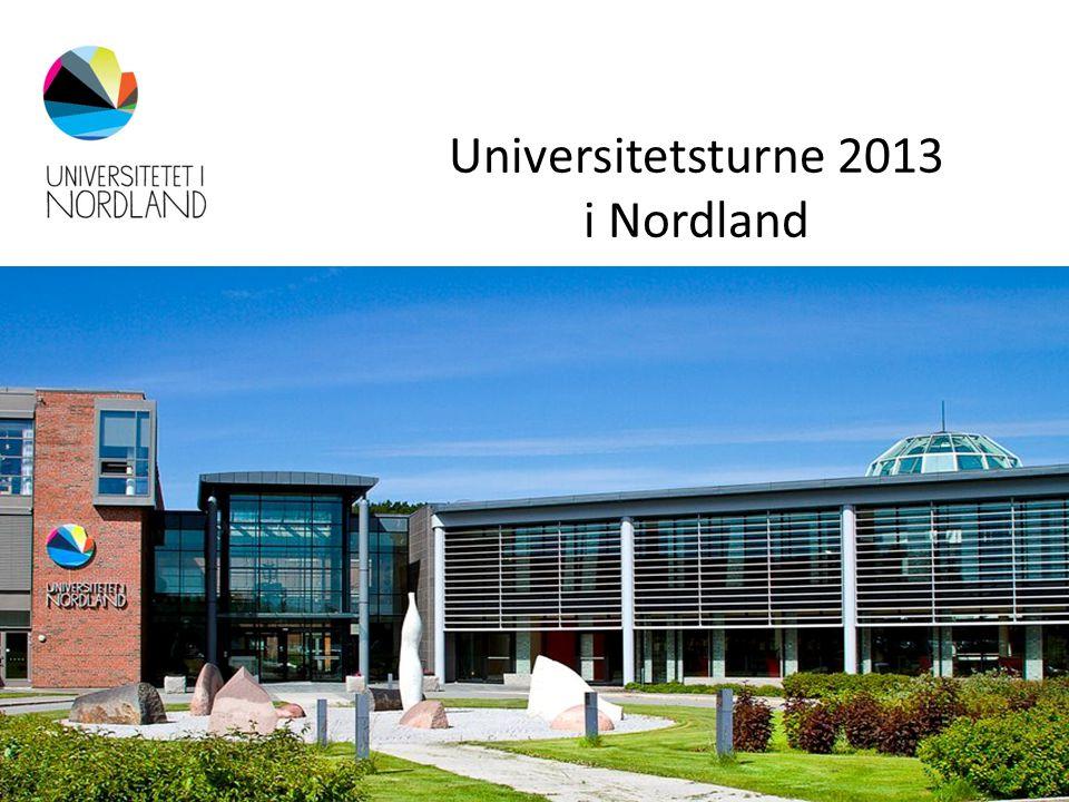 Universitetsturne 2013 i Nordland