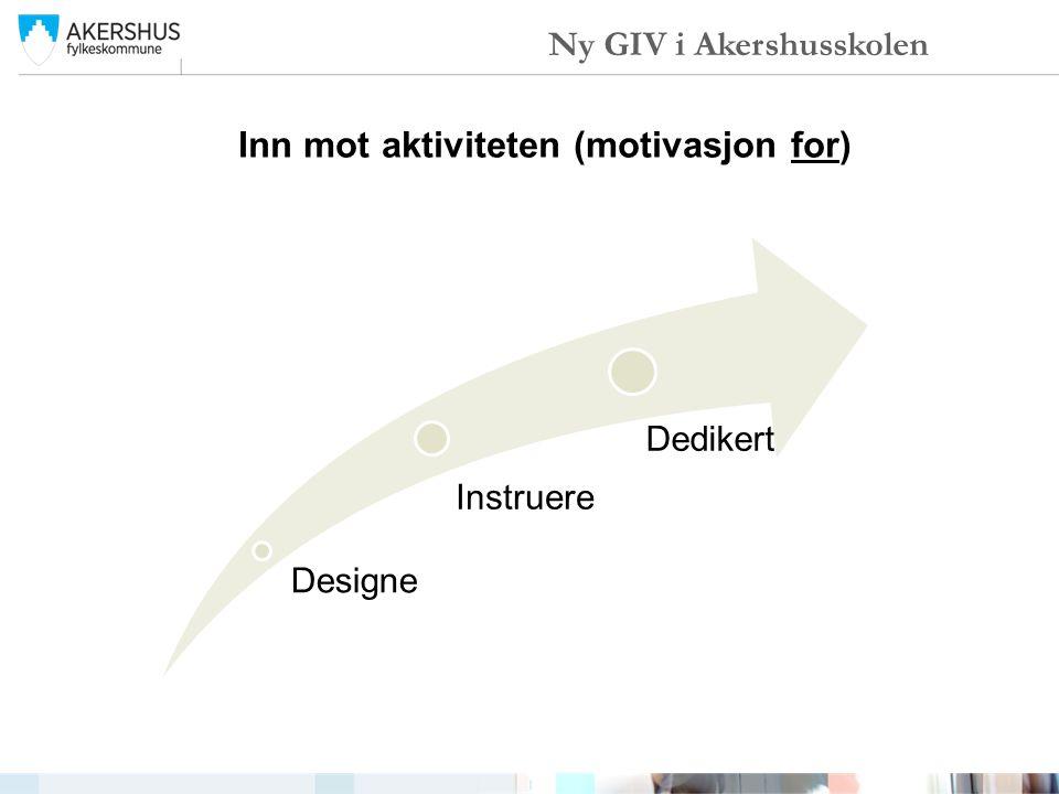 Inn mot aktiviteten (motivasjon for)