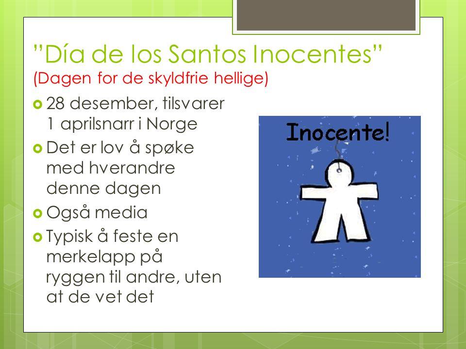 Día de los Santos Inocentes (Dagen for de skyldfrie hellige)