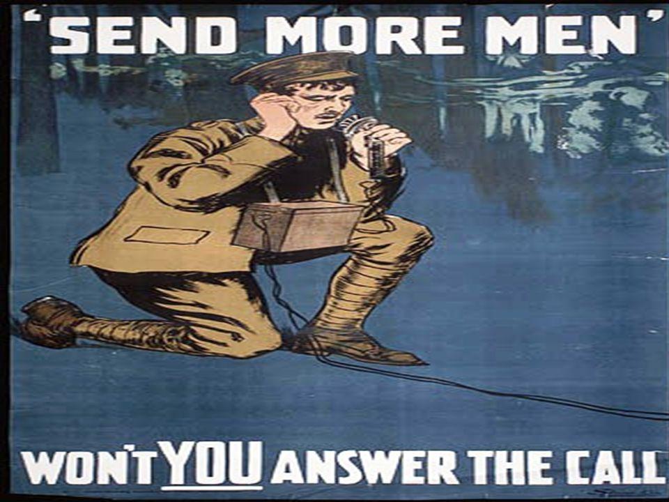 USA går inn i krigen Storbritannia og Frankriket forsøker å hindre Tyskland å motta varer ved å blokkere kysten.