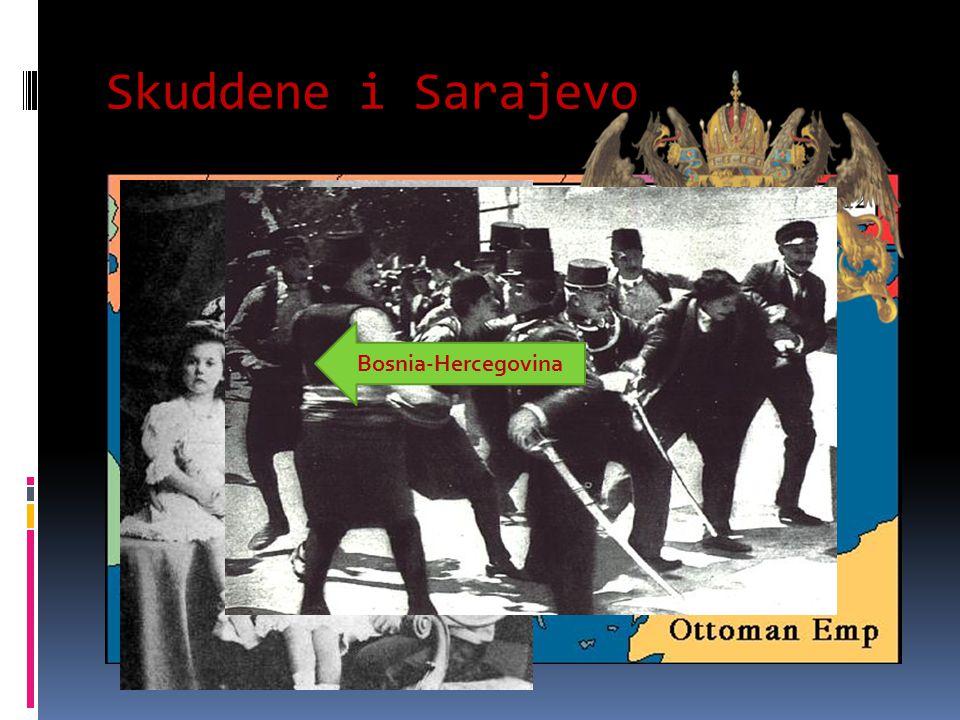 Skuddene i Sarajevo 28 juni 1914:
