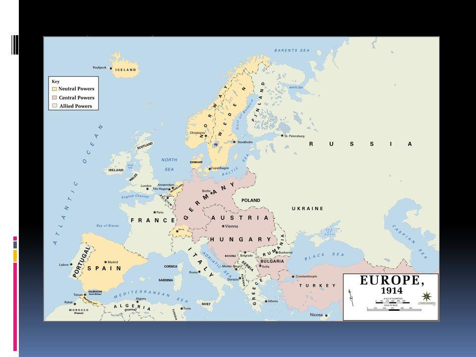Krigen bryter ut 28 juli 1914: