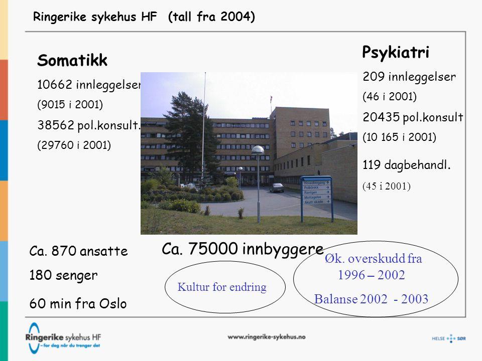 Ringerike sykehus HF (tall fra 2004)