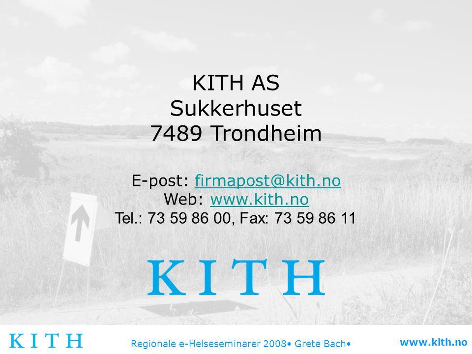 E-post: firmapost@kith.no