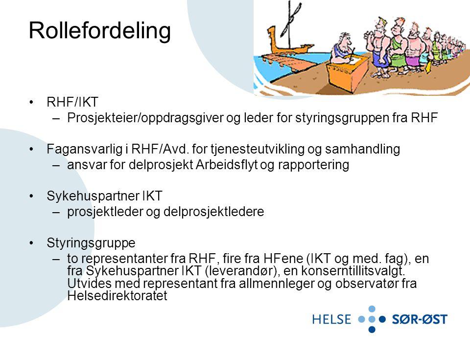 Rollefordeling RHF/IKT