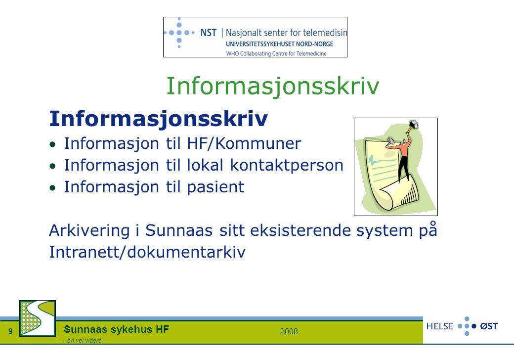 Informasjonsskriv Informasjonsskriv Informasjon til HF/Kommuner