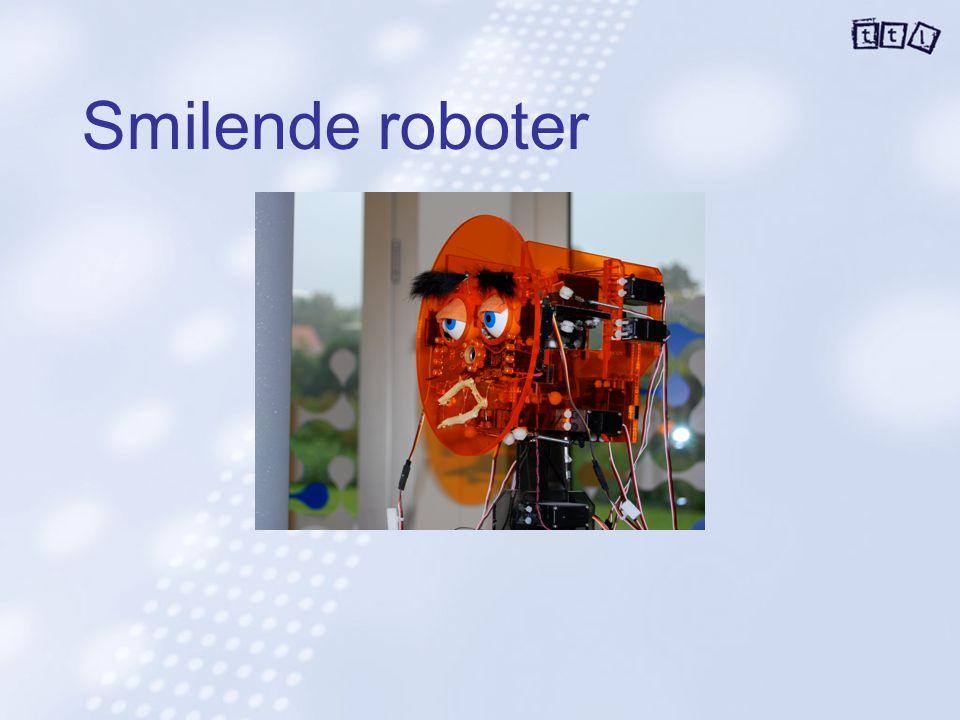 Smilende roboter