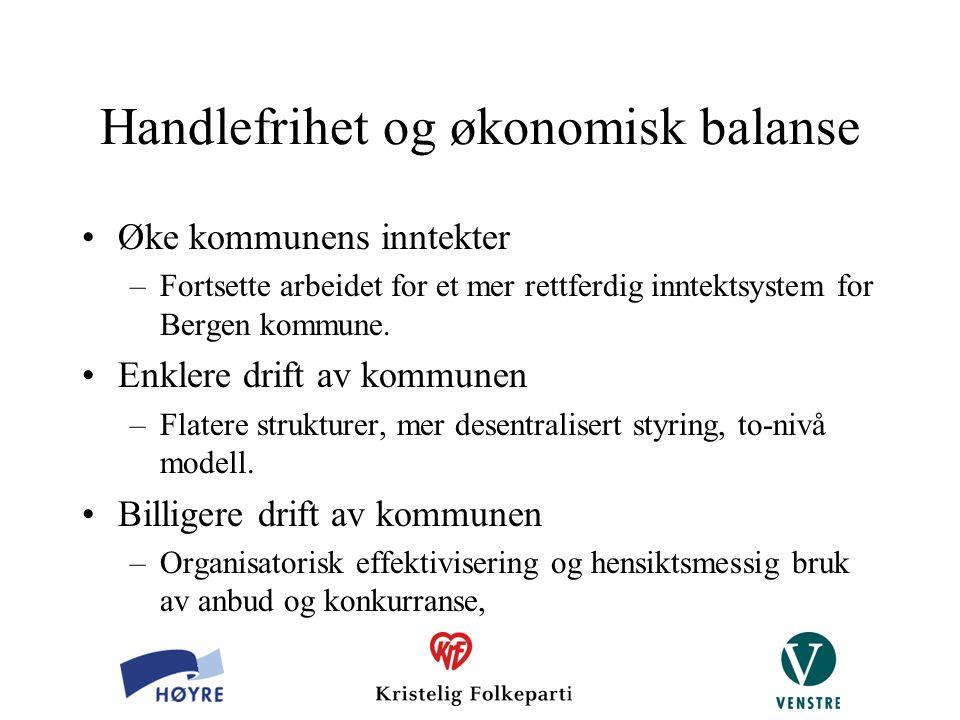 Handlefrihet og økonomisk balanse