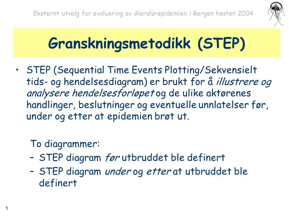 Granskningsmetodikk (STEP)