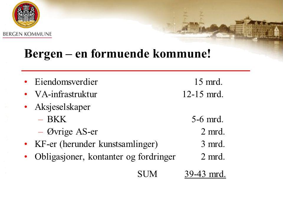 Bergen – en formuende kommune!